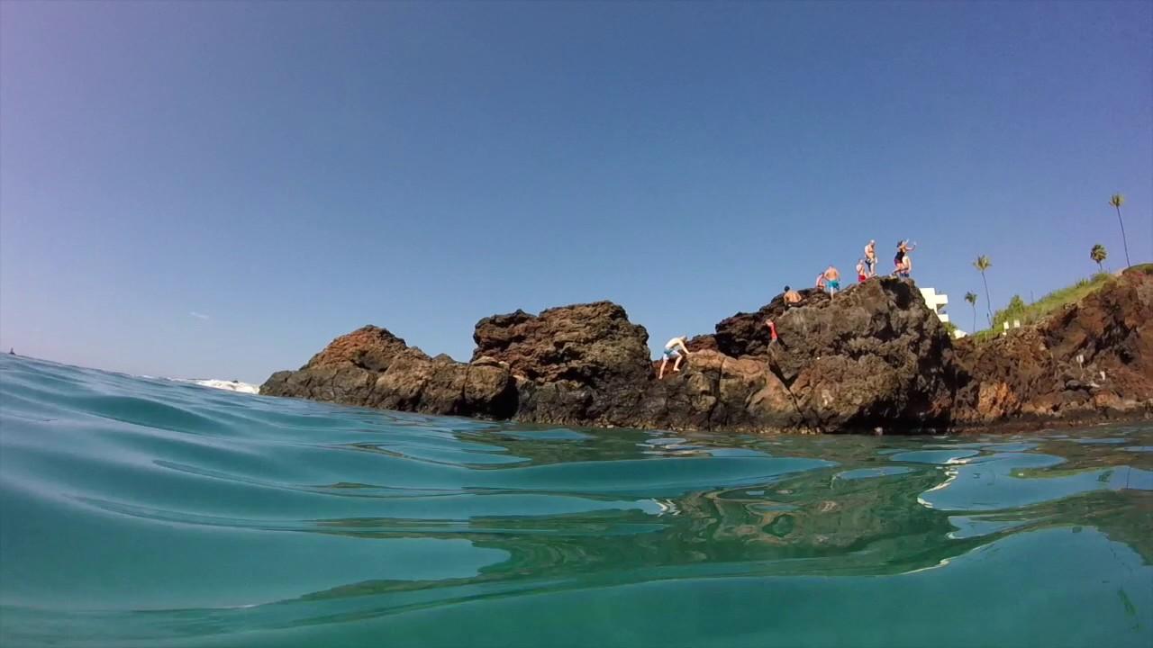 Snorkeling At Black Rock Beach Maui Hawaii