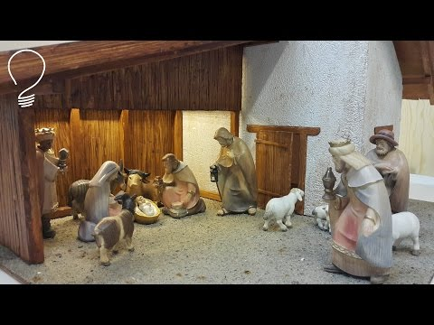 Nativity Scene out of Wood (Part 2 of 3)- Stable