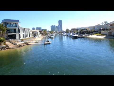 オーストラリア旅行: Mansions by Nerang River, Brisbane City, 澳大利亚旅游:布里斯本市(奈蕴河、奈運河)沿岸的豪宅