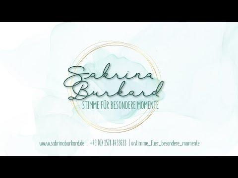 Sabrina Burkard │ Stimme Für Besondere Momente - Make You Feel My Love