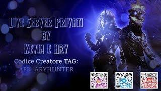 🔴 Live fortnite: Server privati con Kevin & Ary. Support Creator: APK_ARYHUNTER coins in live
