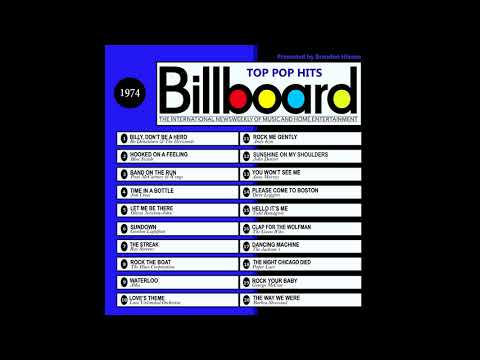 Billboard Top Pop Hits - 1974