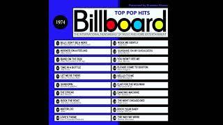 billboard top pop hits 1974