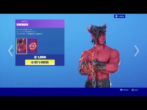 Fortnite Battle Royal/ New Devil Skin And Hell Beast Skin!