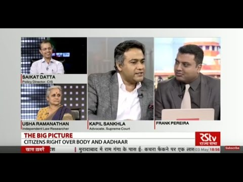 The Big Picture - Aadhar & Citizen's Right Over Body