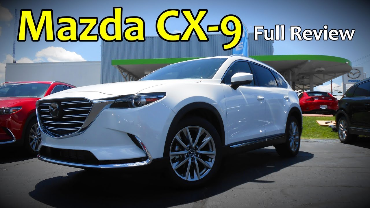 2017 mazda cx 9 full review signature grand touring touring sport youtube. Black Bedroom Furniture Sets. Home Design Ideas