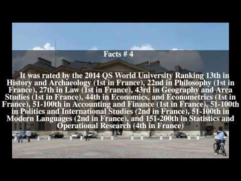Pantheon-Sorbonne University Top # 8 Facts