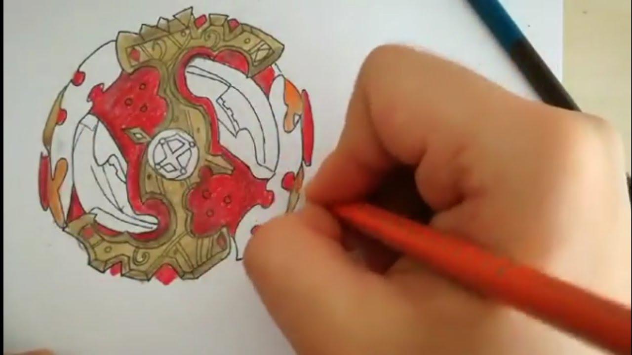 How To Draw Spriggan Requiem Beyblade Burst Evolution