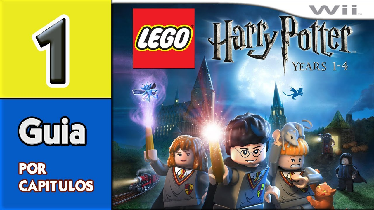 Guia Lego Harry Potter Years 1 4 Wii Capitulo 1 Youtube