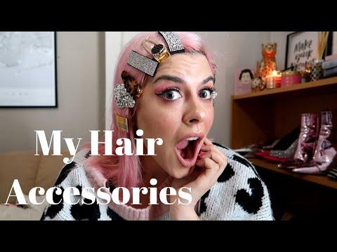 Αξεσουάρ μαλλιών - Hairclips ( η συλλογή μου ) | SISSY KYRIAKOU