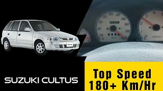 Suzuki Cultus Top Speed Test Vxr (2000-2017) | Acceleration 0-180 km/h | 1000cc