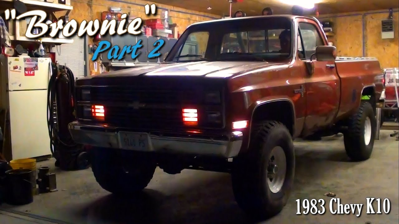 small resolution of 1983 chevy k10 4x4 update engine bigger tires explosions