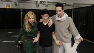 Tara & Johnny with Nathan Chen