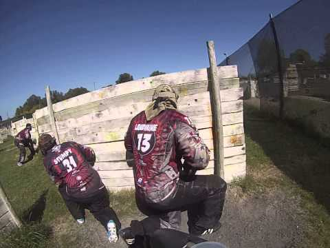 Paintballing South Africa with GoPro