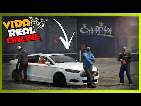 🔴 GTA V : VIDA REAL ONLINE - PINTEI MEU FUSION DE BRANCO ! #110