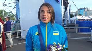 Европейские игры-2019. Интервью Марины Бех-Романчук