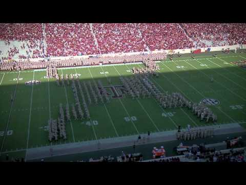 Texas A&M Halftime Drill vs Alabama