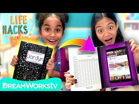 How to Hide Your Tablet + More Tech Hacks | LIFE HACKS FOR KIDS