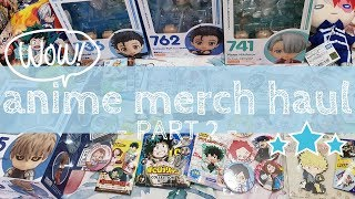 Anime Merch Japan Haul - Part 2 (Compras Japón, Boku no Hero Academia)