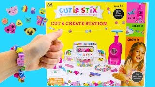 Cutie Stix DIY Make Your Own Bracelets and Necklaces! Kids Crafts