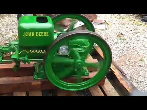 1925 John Deere 1 1/2 HP Hit Miss Engine