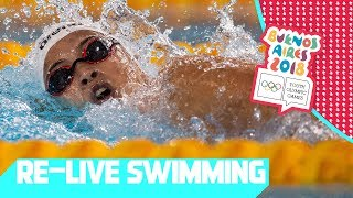 RE-LIVE | Day 03: Swimming | Youth Olympic Games 2018 | Buenos Aires