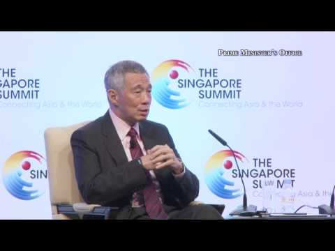 On reclamation projects in Straits of Johor (Singapore Summit 2014)