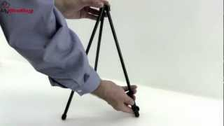 Quartet Black Tabletop Instant Easel Demo