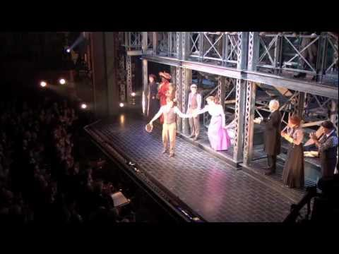 Disney's NEWSIES on Broadway: Opening Night Curtain Call