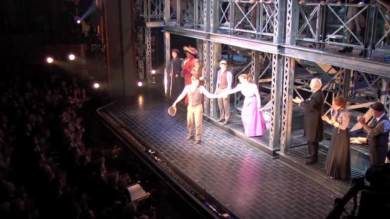 Disneyu0027s NEWSIES On Broadway: Opening Night Curtain Call   YouTube