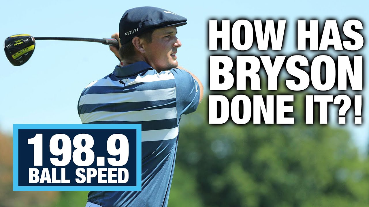How Bryson DeChambeau has Gained SO MUCH Speed And Distance! | ME AND MY GOLF