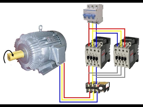 To start 3 phase induction motor with star delta starter for Three phase induction motor