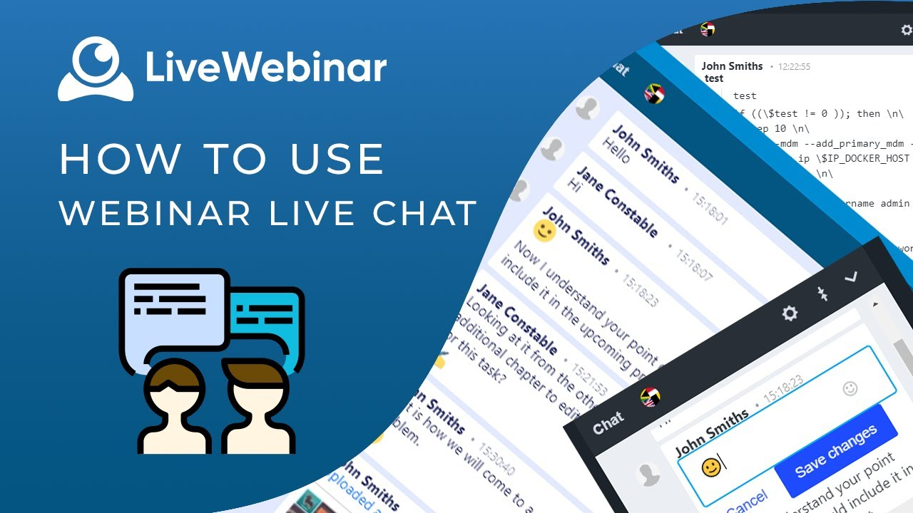 LiveWebinar Tutorial: Chat - all features - YouTube