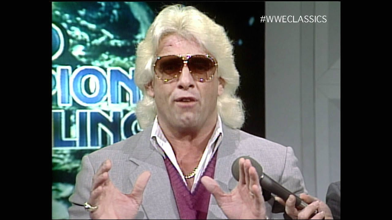 ric flair promo wcw 1 25 86 youtube