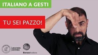 Italiano a gesti - Tu sei pazzo!
