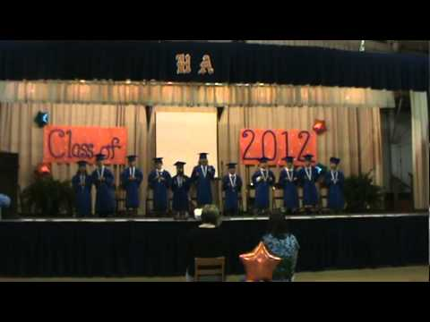 Tooty ta song Hobgood Academy 2012