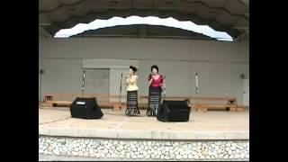 九州の安田姉妹レイカシスターズが歌うアニソン「君をのせて」