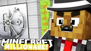 HOW TO BECOME THE RICHEST MINECRAFTER - MINECRAFT MILLIONARE MOD PACK