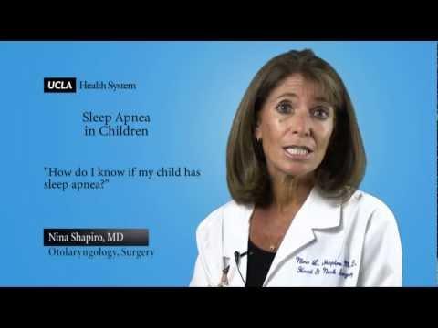How Do I Know If My Child Has Sleep Apnea? | Sleep Apnea In Children - Nina Shapiro, MD