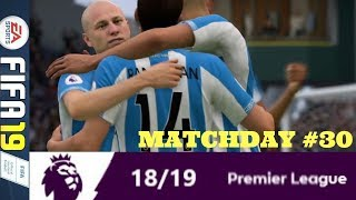 GREAT ESCAPE INITIATED: MATCHDAY 30 PREMIER LEAGUE #ePL (FIFA 19)