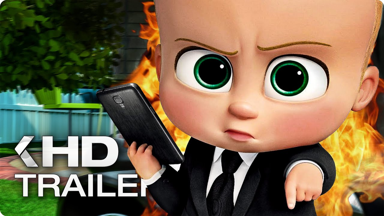 Download THE BOSS BABY ALL Trailer & Clips (2017)