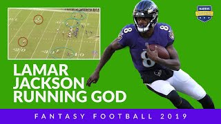 Lamar Jackson Is A Running God. Can He Be Your Fantasy Football Quarterback?