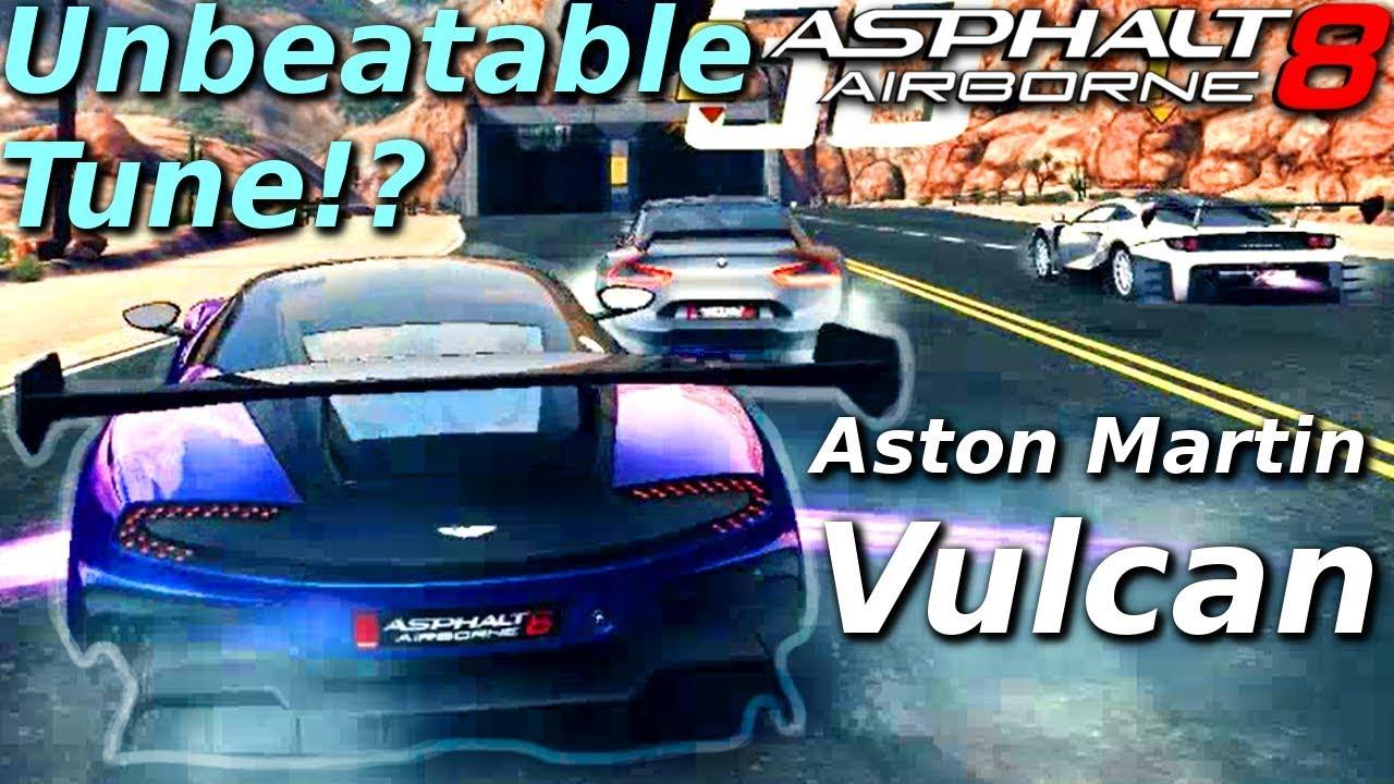 Unbeatable Tune Aston Martin Vulcan Rank 1679 Multiplayer In Asphalt 8 Youtube
