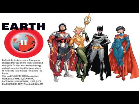 DCnew52: The Multiversity -  The New 52 Guidebook