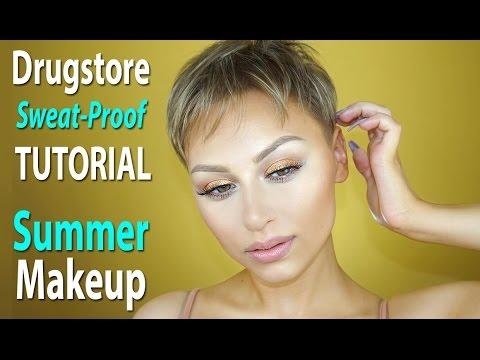 Drugstore / Affordable Sweat Proof Summer Makeup | Alexandra Anele