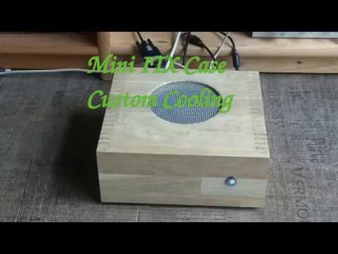 DIY Mini ITX PC Custom Cooling