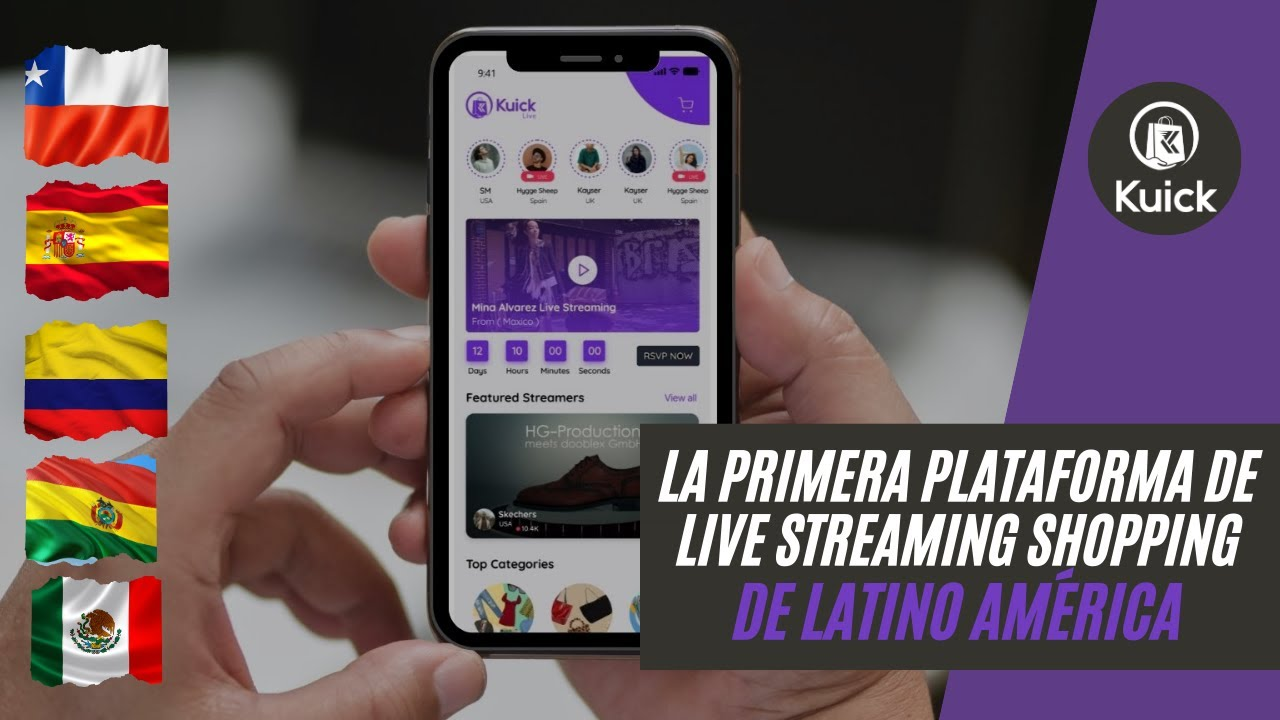 Download The First LIVE Shopping APP in Latin America / Kuick 2020 Highlights #LiveShopping