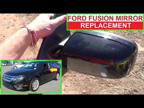 How To Remove And Replace The Side View Mirror On Ford Fusion Second Generation 2009 2010 2017 Auto Parts Warehouse
