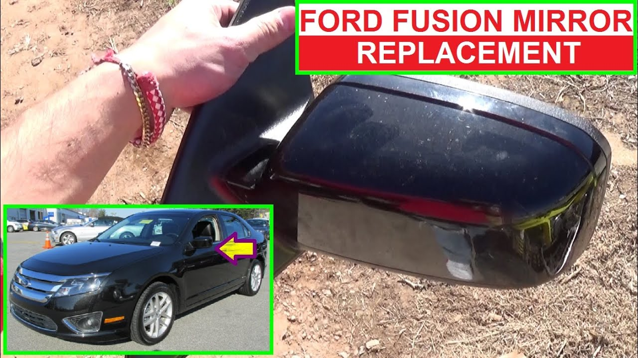 How To Remove And Replace The Side View Mirror On Ford Fusion Second