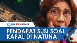 Beda Pendapat Susi dan Prabowo Soal Kapal di Natuna, Persahabatan dan Pencurian Itu Beda